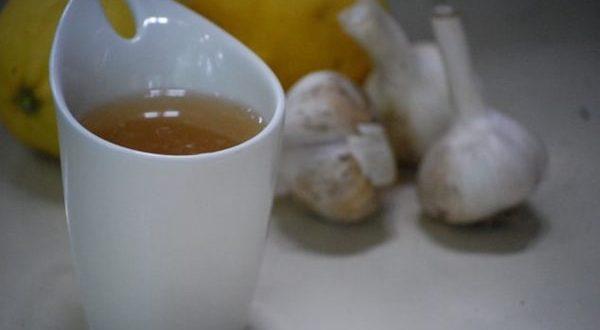 Kilo vermenin sırrı sarımsak çayı