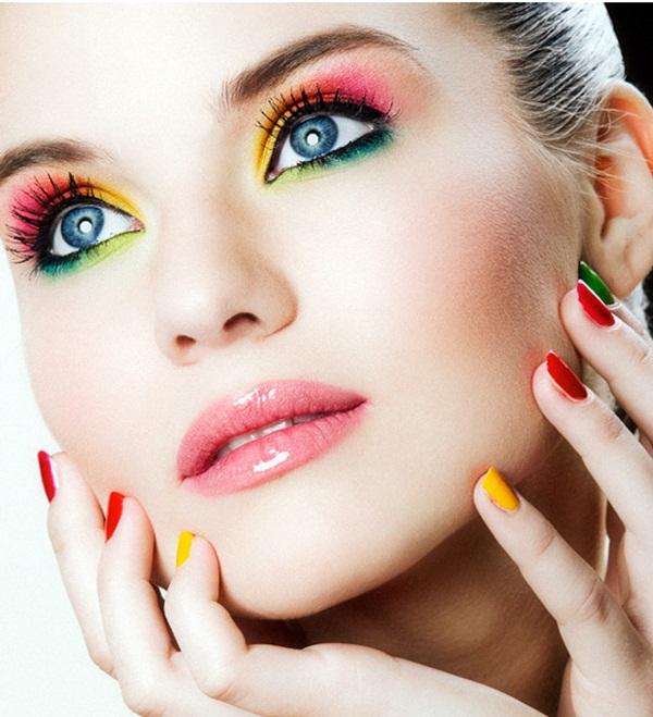 Makyajda zıt renkler