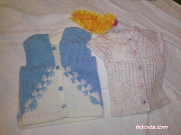 yeni doğan bebek yelekleri