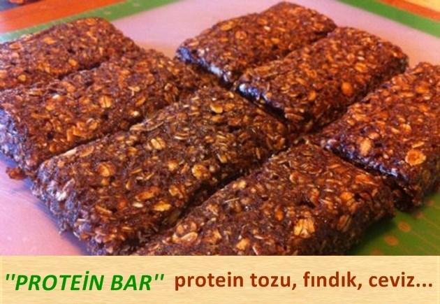 Protein bar nedir, evde nasıl yapılır?