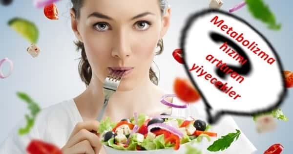 Metabolizmayı hızlandırıcı yiyecekler ve içecekler nelerdir? Yağ yakımını hızlandırmak için