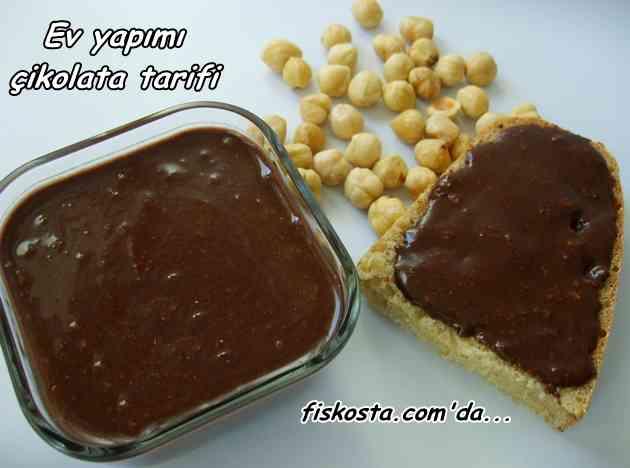 Evde çikolata yapımı