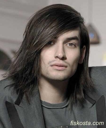 uzun saç modelleri yapımı erkek