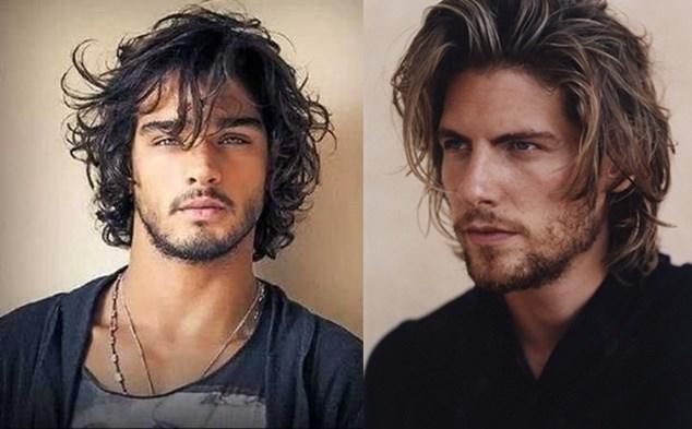 uzun saç modelleri erkekler için