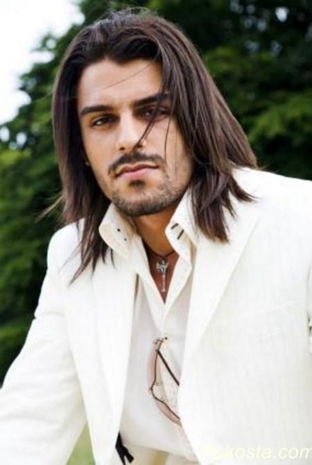 uzun saç modelleri erkek