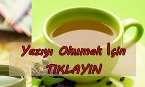 Ayça Kaya metabolizma hızlandıran çay