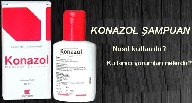 Konazol şampuan kullananlar, konazol şampuan nasıl kullanılır?