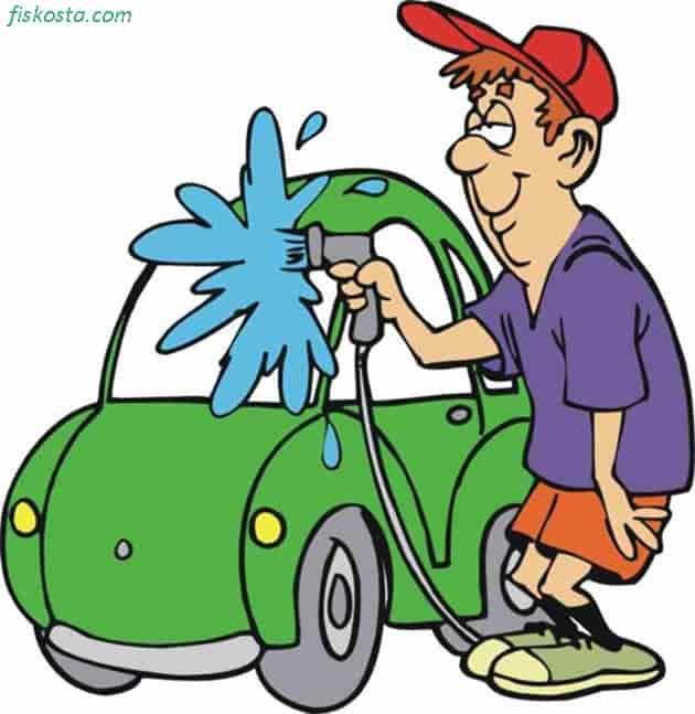 Arap sabunu ile araba yıkanır mı?