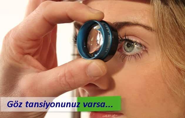 Göz tansiyonu belirtileri, glokom tedavisi