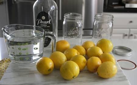 Limon sirkesi yapılışı