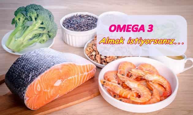 Omega 3 nasıl kullanılmalı ve faydaları
