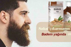 Badem yağı sakal çıkarır mı?