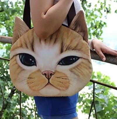 Kedi figürlü çantalar