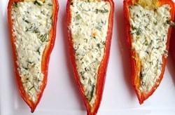 Peynirli biber sandal tarifi