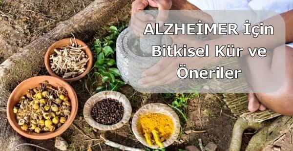 Alzheimer bitkisel tedavi İbrahim Saraçoğlu kürü