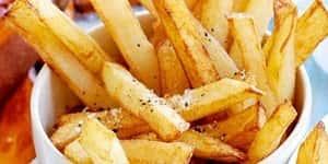Unlu patates kızartması nasıl yapılır? Patates kızartması mısır unlu