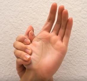 El kol uyuşması sinir sıkışması egzersizleri