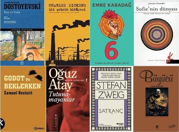 En iyi okunması gereken kitaplar listesi, Türk edebiyatında okunması gereken kitaplar